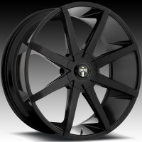 DUB S110 Push Black w/Machined Face
