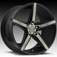 DUB S119 Lace Black & Machined with Dark Tint