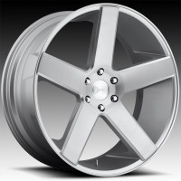 Литые диски DUB Baller Brushed Silver