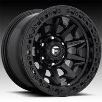 Литые диски Fuel Off-Road Covert Beadlock Matte Black w/Matte Black Ring