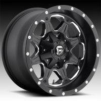 Литые диски Fuel Off-Road Boost Matte Black & Milled