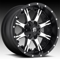 Литые диски Fuel Off-Road Nutz Black & Machined
