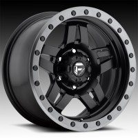 Литые диски Fuel Off-Road Anza Matte Black w/ Anthracite Ring