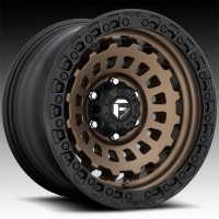 Литые диски Fuel Off-Road Zephyr Bronze w/Black Ring