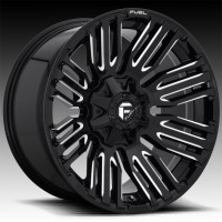 Литые диски Fuel Off-Road Schism Gloss Black & Milled