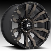 Литые диски Fuel Off-Road Blitz Matte Black/Machined/DDT