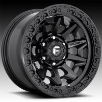 Литые диски Fuel Off-Road Covert Matte Black