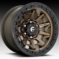 Литые диски Fuel Off-Road Covert Bronze w/Black Lip