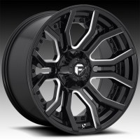 Литые диски Fuel Off-Road Rage Gloss Black & Milled