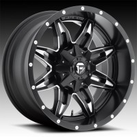 Литые диски Fuel Off-Road Lethal Black & Milled