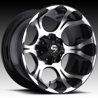 Диски FUEL Off-Road D524 Dune Gloss Black w/Machined Face