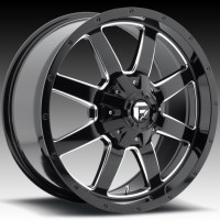 Диски FUEL Off-Road D535 Frontier Gloss Black w/ Milling