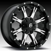Диски FUEL Off-Road D540 Nutz Black & Machined