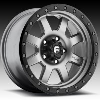 Диски FUEL Off-Road D551 Trophy Matte Anthracite w/Black Ring