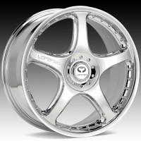 Диски Lorenzo WL028 Chrome