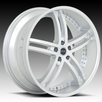 Диски Status S816 Knight 5 Hyper Silver w/Machined Face