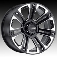 Литые диски Tuff A.T. T22 Gloss Black w/Milled Spokes & SS Bolts