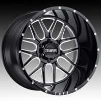 Литые диски Tuff A.T. T23 Gloss Black w/Milled Spokes & Dimples