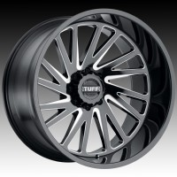 Литые диски Tuff A.T. T2A Gloss Black w/Milled Spoke