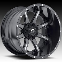 Диски FUEL Off-Road D251 Nutz Matte Black & Milled