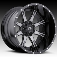 Диски FUEL Off-Road D252 Nutz Black & Milled
