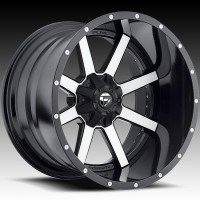 Диски FUEL Off-Road D561 Maverick Black & Machined