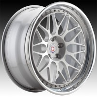 Кованые составные диски HRE 300 Naked Silver center, Polished Clear outer, Gloss Silver inner