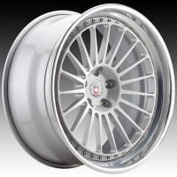 Кованые составные диски HRE 309 Naked Silver center, Polished Clear outer, Gloss Silver inner