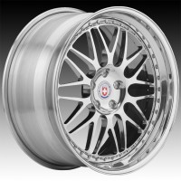 Кованые составные диски HRE 540 Polished Clear center, outer and inner barrel