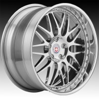 Кованые составные диски HRE 540R Polished Clear center, outer and inner barrel