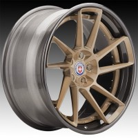 Кованые составные диски HRE RS304 Brushed Champagne center, Polished Dark Clear outer and inner barrel