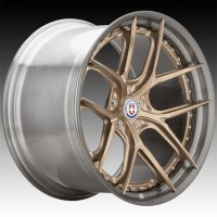 Кованые составные диски HRE S101SC Frozen Polished Champagne center, Polished Dark Clear FMR™ barrel