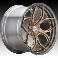 Кованые составные диски HRE S111SC Frozen Polished Champagne center, Polished Dark Clear FMR™ barrel