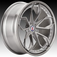 Кованые составные диски HRE S201 Brushed Titanium center, Brushed Dark Clear outer and inner