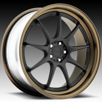 Диски Niche H55 WS9 Matte Black w/Bronze Step Lip