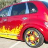 "Hipnotic C-Note - 18"" Hipnotic C-Note Chrome w/Custom Color Inserts  