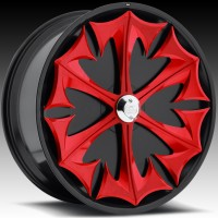 Davin H721 Apocalypse Red Spinners