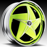DUB S721 Swerv Spinners Yellow